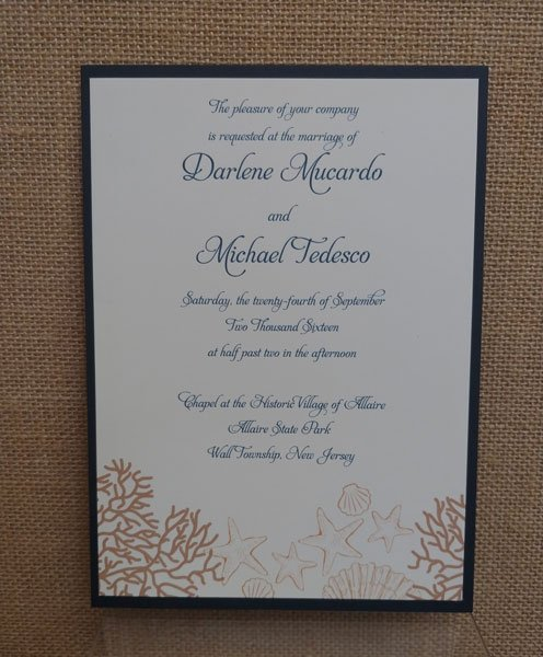 Wedding Invitations Anna Soiree